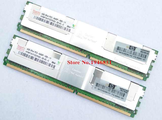 Память для Hynix 4 ГБ DDR2 800 мГц PC2-6400F 4 г 2Rx4 FBD ECC RAM пожизненная гарантия