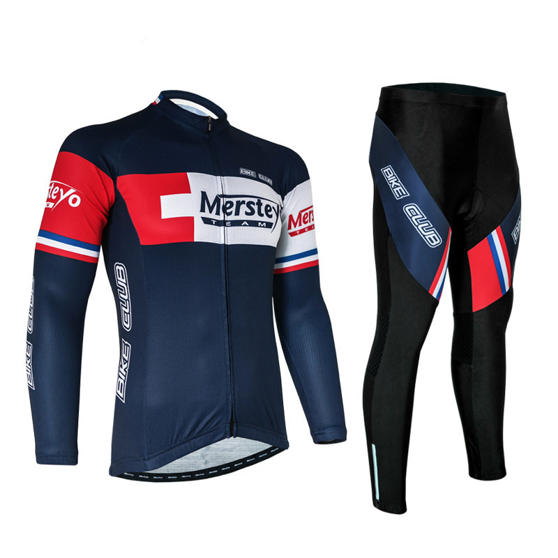 2016 Men's Team Racing Long Sleeve Cycling Jersey Ropa invierno Ciclismo MTB Bicycle Cycling Clothing/Sports Bike Jersey Clothes цены