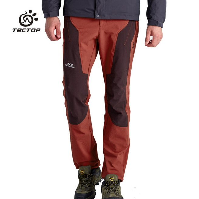Softshell Pants Men Joining Together Contrast Color Windproof Waterproof Outdoor Hiking Pants Climbing Camping Tactical Pants