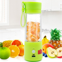 2016 Creative New 380ML Portable USB Electric Juicer Blender Drink Bottle Smoothie Maker Ice Crusher Outdoor Travel Taotown