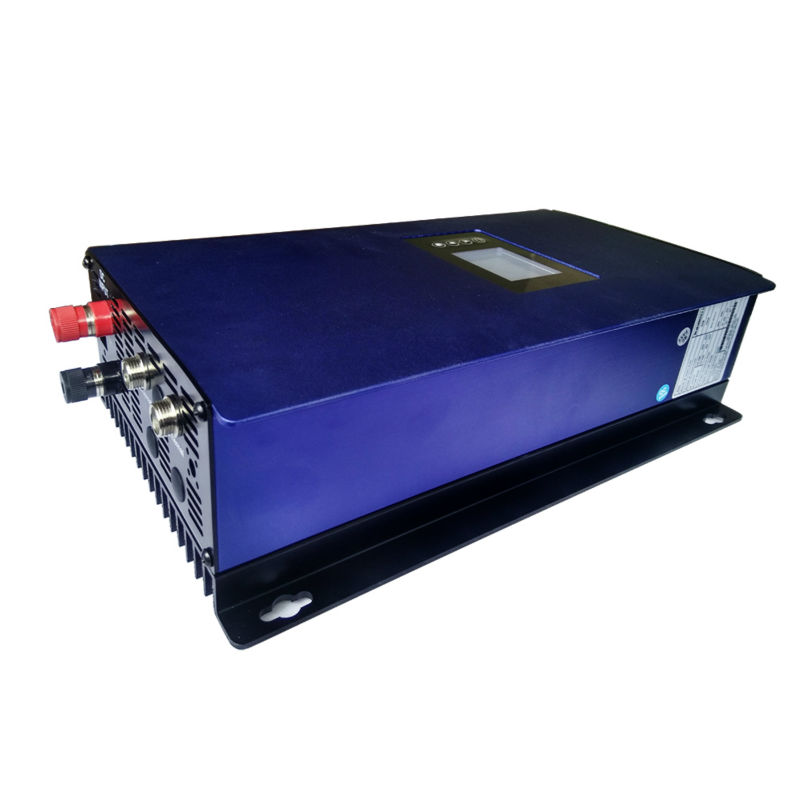 MAYLAR@ LCD 1000W Solar Grid Tie inverter with limiter,MPPT pure sine wave power inverter DC22-60V 230V AC maylar 22 60vdc 300w dc to ac solar grid tie power inverter output 90 260vac 50hz 60hz