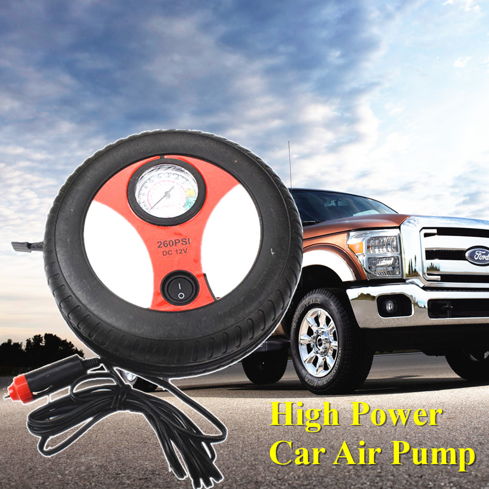 High Power Car Air Pump Air Compressor Mini Car Air Pump For Automobile Motor Boat Mobile Auto Tire Pump Fast Inflate Compressor