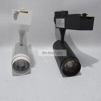 4 Wire 3 Circuit Track Light 20W In White Black Track Head Bridgelux 3000K 4000K 6000K