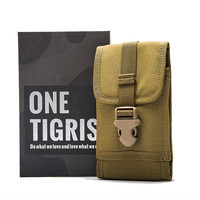 OneTigris MOLLE Tactical Waist Packs Cellphone Smartphone Pouch For IPhone6 IPhone6s Galaxy Note 4 Blackberry 8300