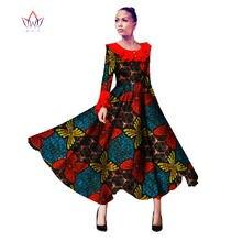 BRW African Dress for Women Summer Long Sleeves Vintage Maxi Dress Dashiki  Bazin Riche Robe longue Femme Plus Size WY934 046228866bf5