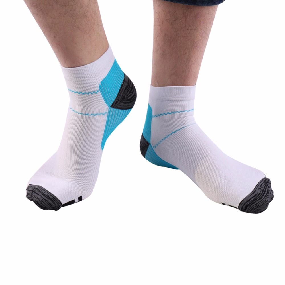 1Pair For Plantar Fasciitis Heel Spurs Arch Pain Foot Compression Socks ...