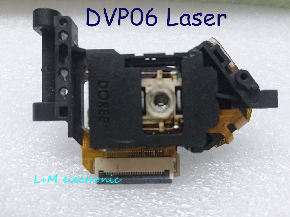 Zbrusu nový DOREE DVP06 Optické pick-upy Bloc Optique EVD DVD DVP-06 Laserové čočky Lasereinheit