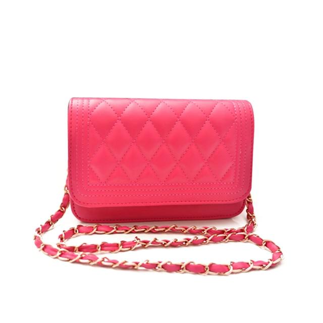 Manka Vesa New 2016 Women Messenger Bag Fashion women Handbag Quilted Fresh Girls Bags One Shoulder Small Women's Cross body Bag