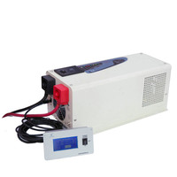 3000 watt 12v/24v/48Vdc to 100v/110v/240Vac low frequency power solar inverter pure sine wave voltage transform with charger