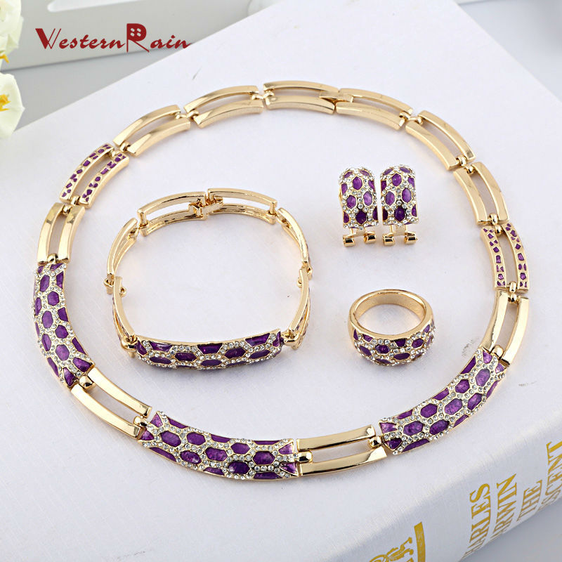 WesternRain 2015 Wedding Accessories UK Gold Plated Jewellery