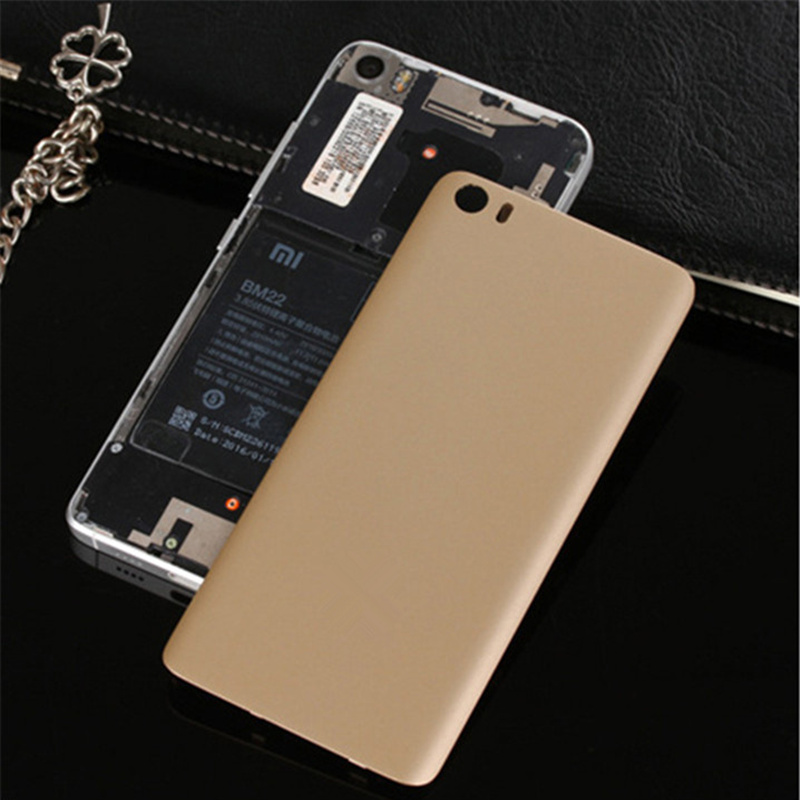Ultra-thin Matte Battery Back Cover Case for Xiaomi Mi5 Mi 5 M5 Phone Housing Shell Hard PC Cases for Xiaomi Mi 5 VI418 P18 0.4