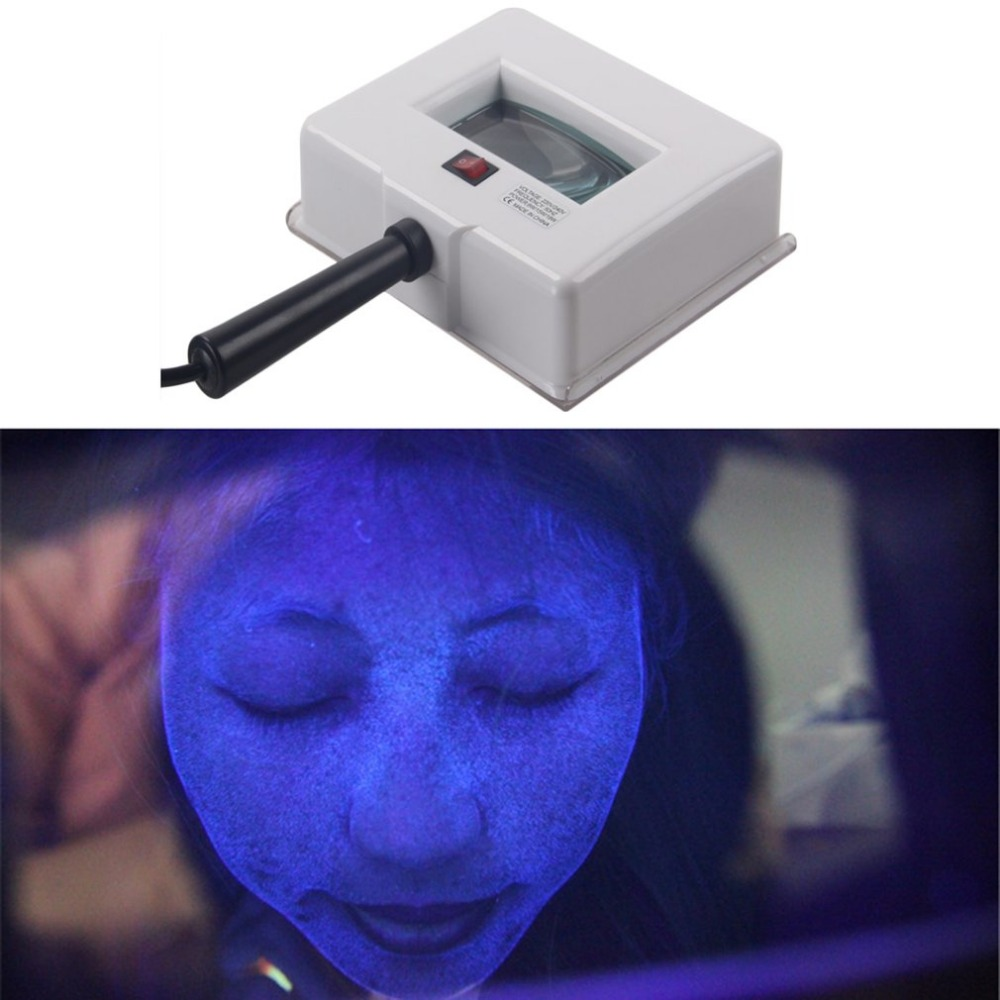 Skin Analysis UV Lamp Magnifying Analyzer Beauty Facial Light Face Diagnostic Tool SPA Salon Equipment