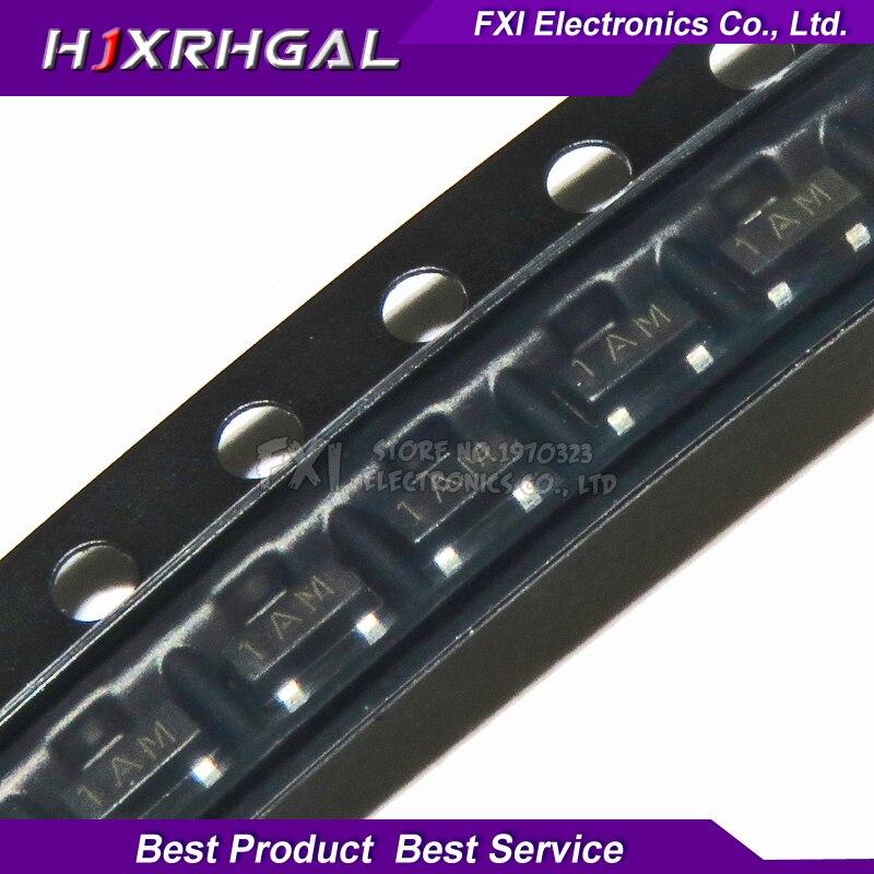 100PCS MMBT3904 2N3904 SOT23 3904 SOT SMD SOT-23 SOT23-3  1AM Transistor New Original