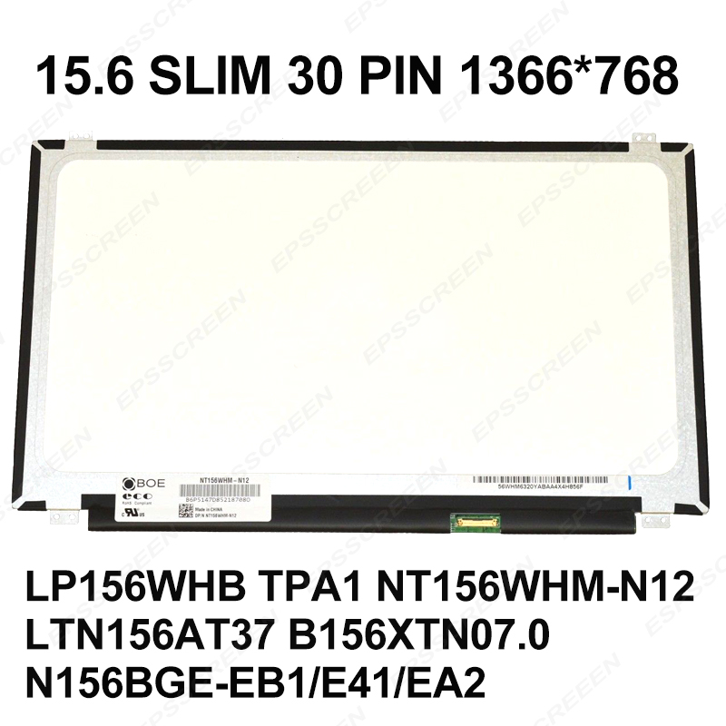 15 6 SUPER SLIM DISPLAY LED LCD PANEL FOR ASUS R557L X504L V505L F554L X555S A556U