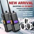 2x Baofeng UV5Xmate Ветчина двусторонней Радиосвязи Dual Band Рация VHF/UHF136-174MHz/400-520 МГц + 2x Динамик + 2x Громкой Связи, Мини-Микрофон