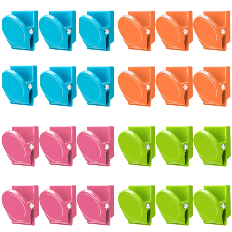 Memo Magnets Push Pin Style Fridge Kitchen Notice Board Magnetic Note Holder