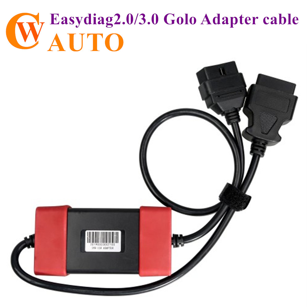 Uruchom Adapter 12V do 24V uruchom Heavy Duty Truck Diesel Adapter Cable dla X431 Easydiag2.0/3.0 Golo Carcare