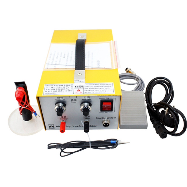 Spot Welder Handheld Precision Pulse Weldersmachine Welding Machine Gold And Silver Jewelry Processing 30a Laser