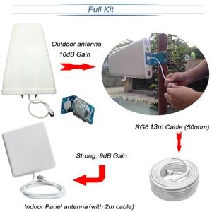 Image 5 - Усилитель сигнала сотовой связи ALC, трехдиапазонный GSM Репитер сигнала 70 дБ с усилением 3G LTE 900 1800 2100 сотовый телефон 4G усилитель Repetidor SetS44