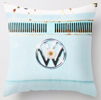 2015 Customized Hippie Chic VW Volkswagen Retro Stylish Zippered Square Throw Pillowcase Best Brand New Popular Pillow Cover