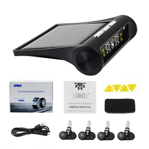 Image 5 - Original Smart Car TPMS Tyre Pressure Monitoring System Solar Power Digital LCD Display Auto Security Alarm Systems Tyre