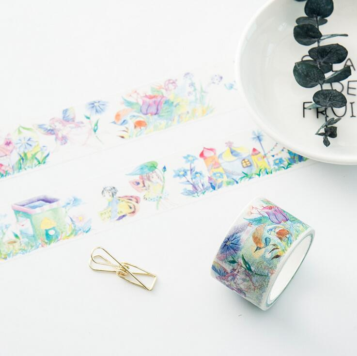Office Adhesive Tape 2019 Fashion 24 Pcs/lot Colorful Moth Fly Washi Tape Adhesive Tape Diy Scrapbooking Sticker Label Masking Tape Tapes, Adhesives & Fasteners