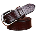 2016 Genuine leather belt woman New Fashion Belts for women High quality Designer Crocodile Cow skin strap female width 2.6cm