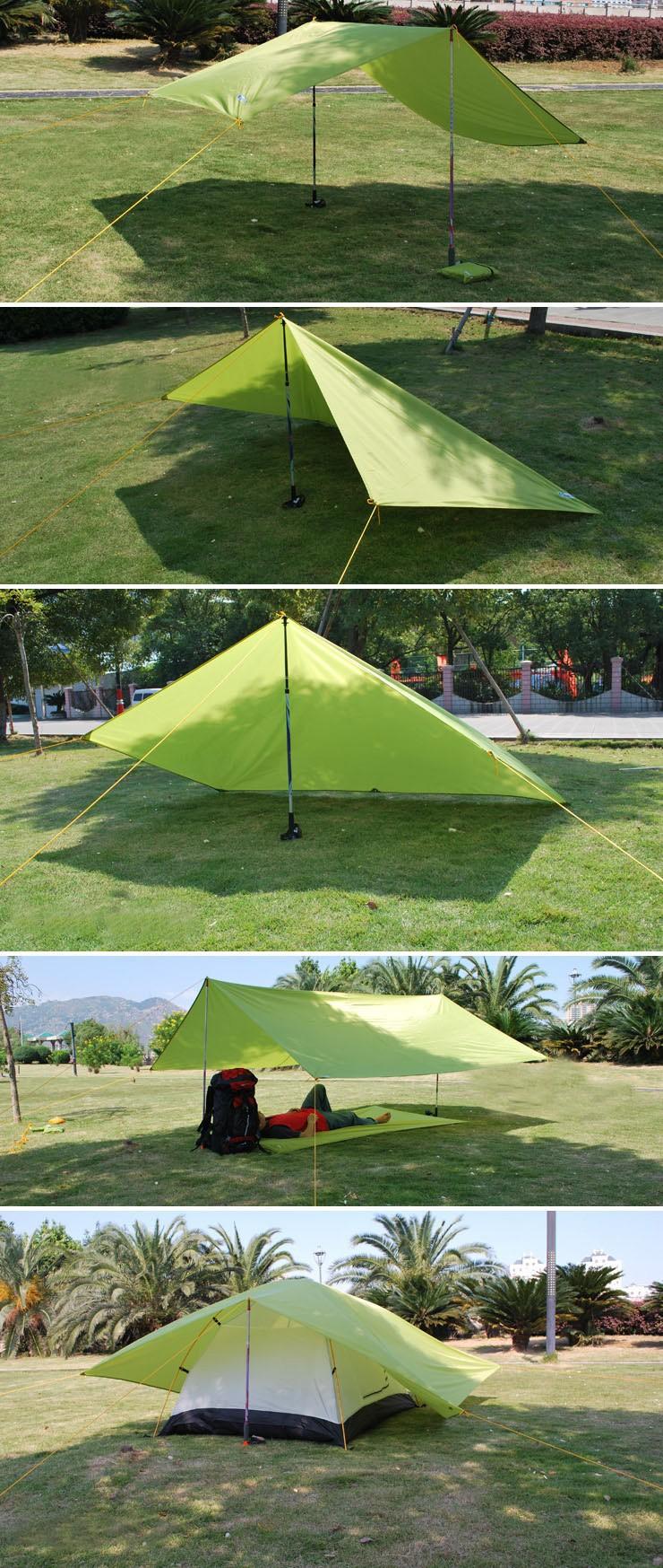 New Design Oxford 220*215CM Sand Free Mat Outdoor Camping Mat Picnic Mattress Beach Mat yellow green blue orange2
