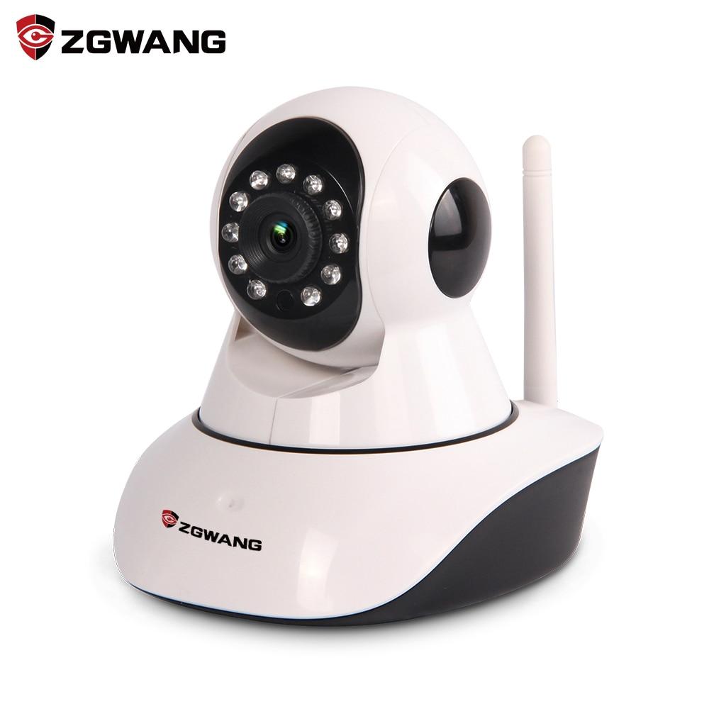 ZGWANG Home Security IP Camera Wi Fi IR Cut Night Vision Audio Recording Wifi 720P Night
