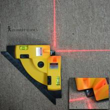 Ângulo reto quadrado 90 graus vertical horizontal linha projeção laser níveis de medição ferramentas nível laser