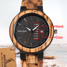 Wood Watch Men Week Display