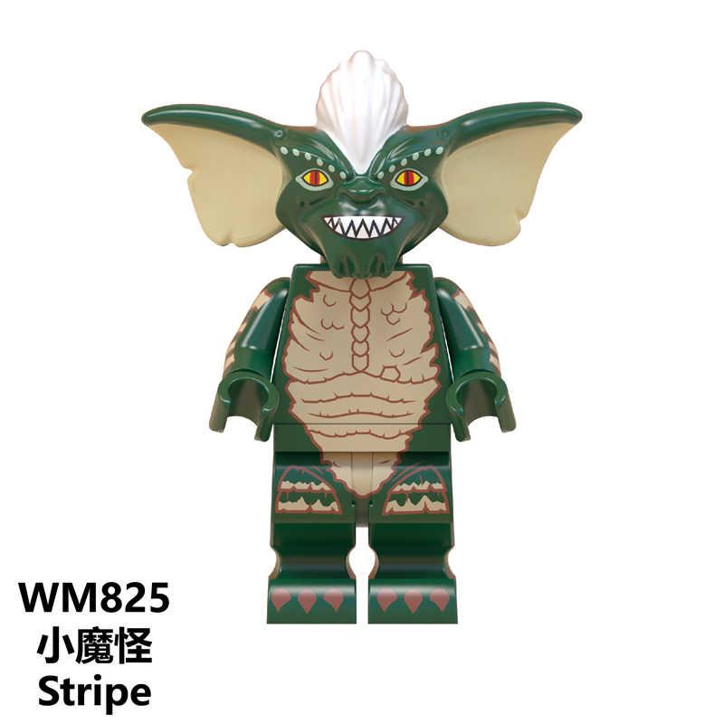 Stay Puft Fantasma BustersS Minifigured ET Alienígena Ponto Angie Sonic Gizmo Tarja WM823 Legoe Tijolos de Construção Brinquedos para Crianças