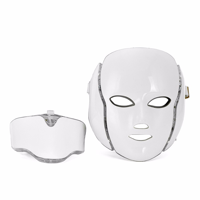 HOT LED Facial Mask 7 Colors With Micro-current Function Skin Whitening Device Beauty Apparatus LED Mask For Face Beauty Device