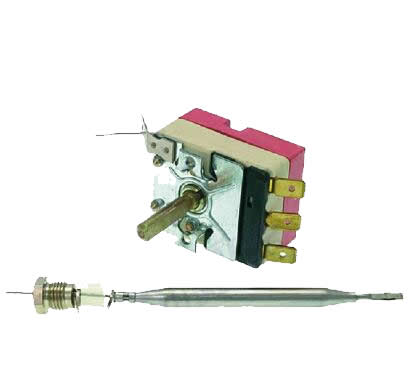 EGO 55.13032.140 Universal Friteuse temperature commande de thermostat 1PH 180