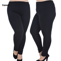 TUHAO Leggings for Women 2018 Winter Warm Plus Size 6XL 5XL Elasticity Thick Velvet Skinny Pants Leggins Fitness Legging QT70
