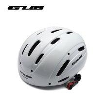 GUB Mens Field TT Helmet With UV Protection Visor Casco Ciclismo MTB Cycling Helmet Integrally molded