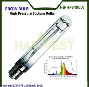 E39/E40 50000 Lumens 2100 k מקורה חממה HPS לגדול אורות צמח מנורת 400 w לפריחת צמיחת T15