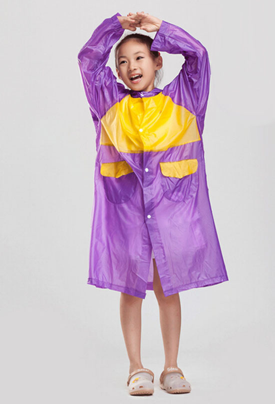 Online Buy Wholesale purple rain coat from China purple