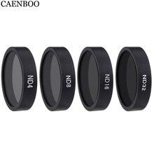 CAENBOO filtro para Dron Protector ND 32 4 8 16 filtro Drone accesorios para DJI Phantom 3 4 K/Avanzado/estándar/profesional Pro/SE