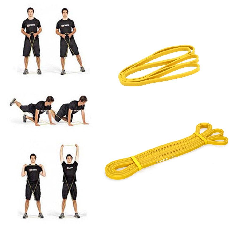 TOMSHOO Résistance Bandes Elasticas par ejercicio pull up aider les Bandes Élastique pour Fitness Workout Sport Équipement D'exercice - 4