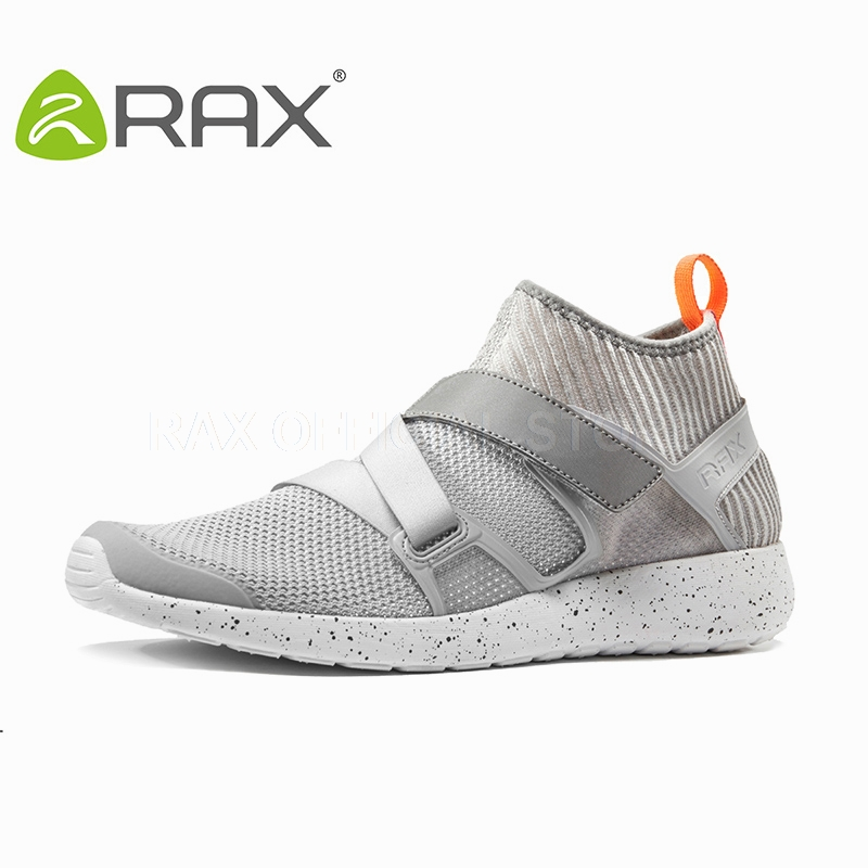 ФОТО RAX Running shoes For Men Breathable Running Sneakers Mens Outdoor Sport Shoes Women Running Shoes Zapatos De Hombre Trainers