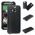 2 in 1 Rubber Silicone + PC Shield Silicone Case For HTC One M8 mini Protective Cover Case for HTC One Mini 2 M8 M9 M7