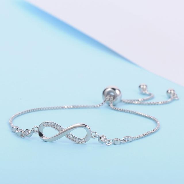 Trendy Bracelet with Infinity Charm