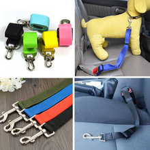 2.5cm Width Vehicle Pet Dog Harness Ajustable Dog Safety Travel Seat Belt Leash Strong Auto Traction lead Cat Collar Chest Vest5
