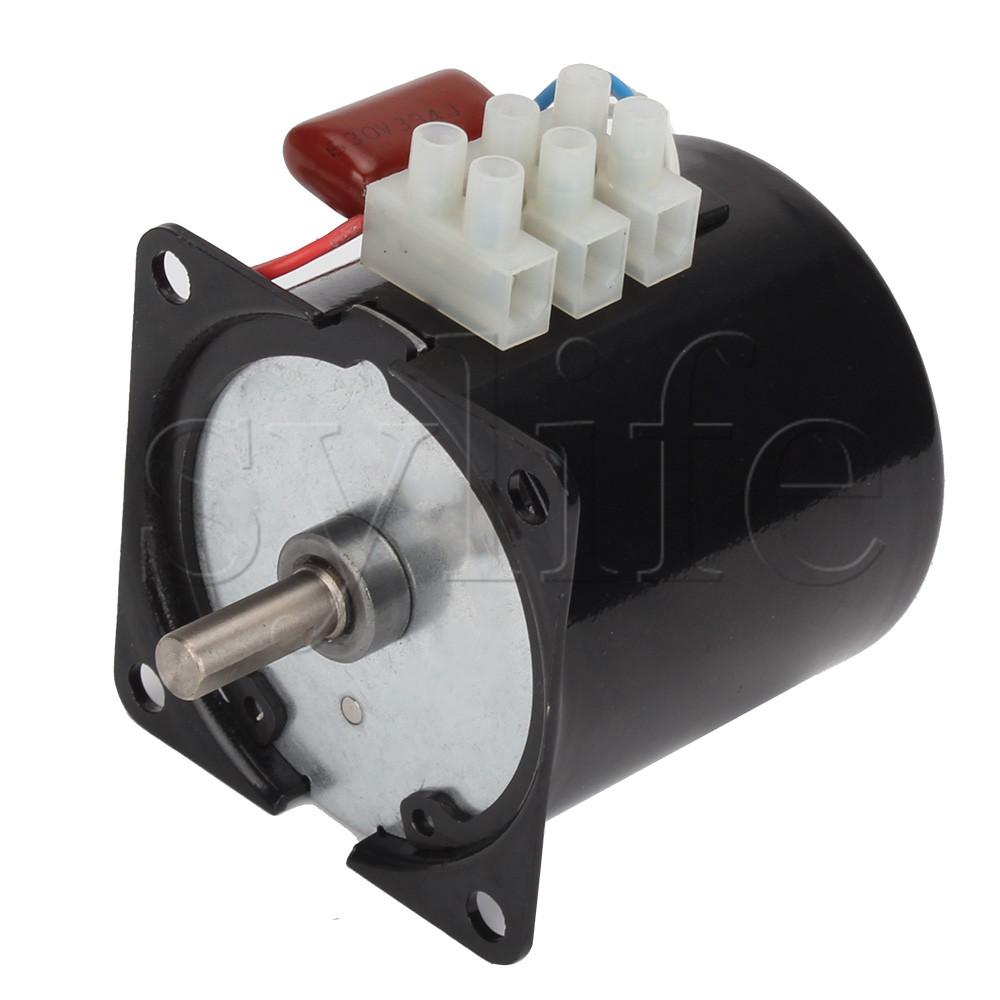 цена на AC 220V 20RPM Rotated Speed Synchronous Reduction Gear Box Motor 14W