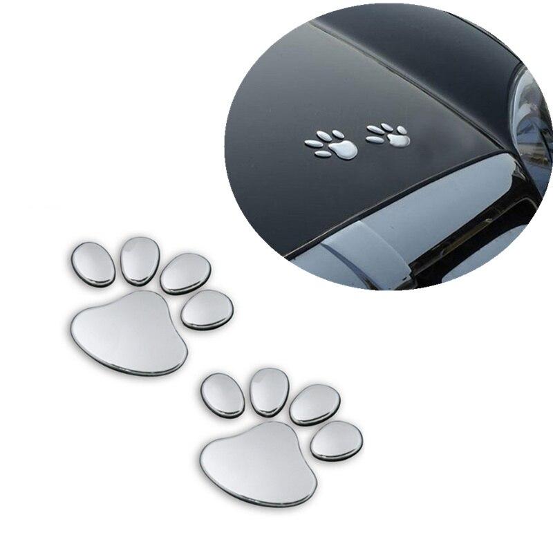 1 Paar Auto Aufkleber Pet Tier Pfote Fußabdrücke Auto Lkw Decor Für Buick Lacrosse Verano Gs Regal Excelle Für Acura Mdx Rdx Tsx