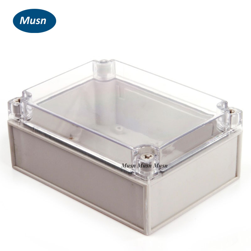 Lighting Accessories 125*175*75mm European Style Ip66 Abs Clear Plastic Box Junction Box Distribution Box
