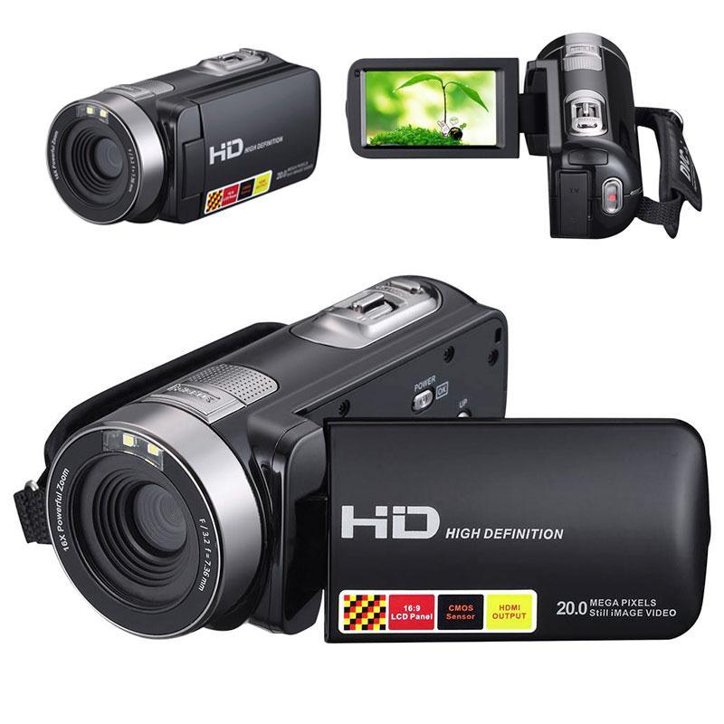 Gizcam Night Vision 1080P HD Digital Camera Video Recorder Camcorder 3.0 Inch LCD DV DVR 16x Zoom Camera Gift JPEG for Children
