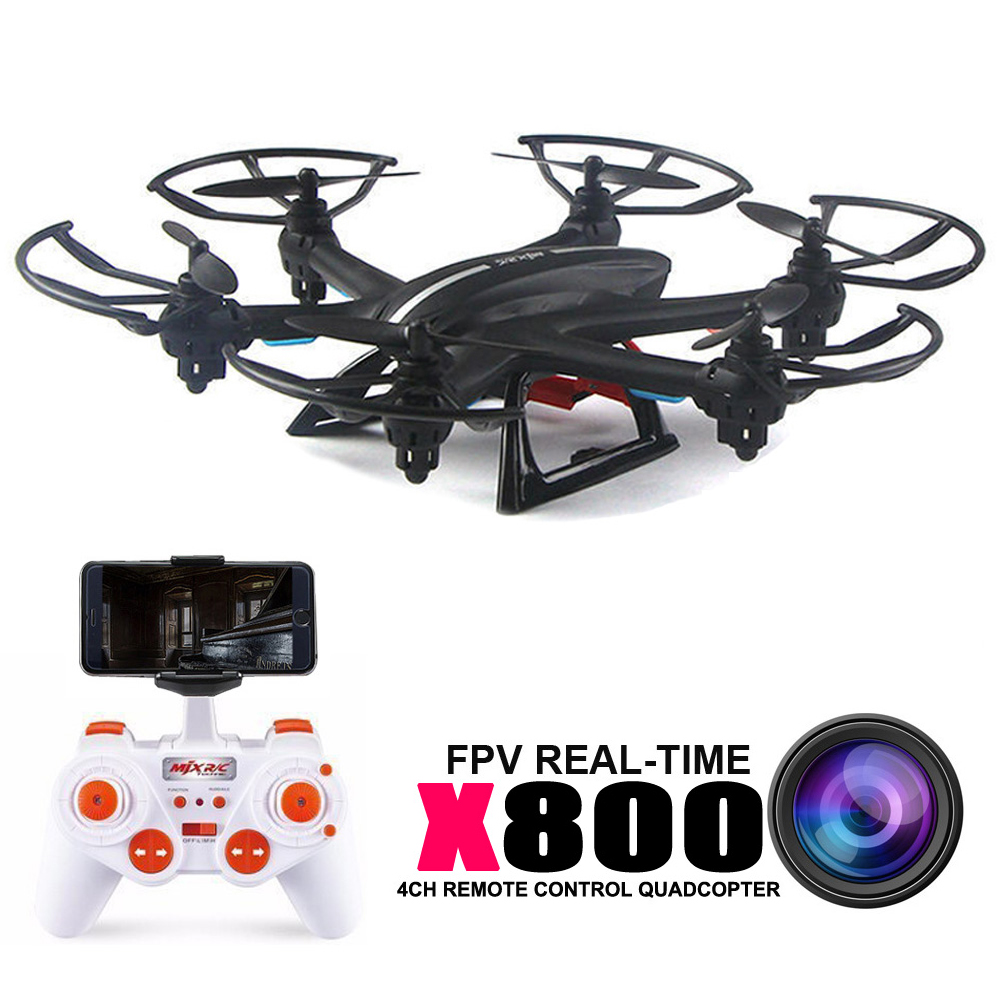 ФОТО Mjx X800 Rc Helicopter Drones Quadcopter can add C4010 Wifi Fpv Hd Camera and 4pcs Battery An 1in4 Charger vs X5sw X6sw X5c
