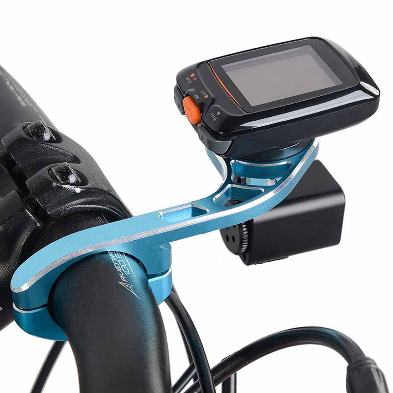 TrustFire HE05 Black Extend Holder Mount Bracket Holders Stands for Garmin Bryton Bike Computer GoPro Camera